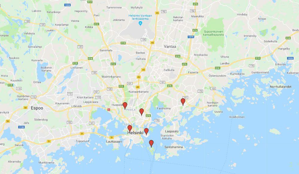 Kartat Etaisyydet Hostellit Ja Mukava Matka Ikkunani